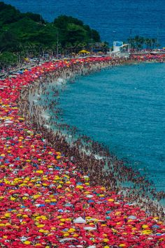 Rio 40°,Brazil And they think Patong beach is crowded, ha