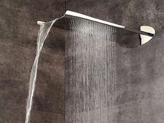 WALL-MOUNTED WATERFALL SHOWER ARIA | OVERHEAD SHOWER | WEBERT