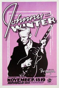 Johnny Winter, Armadillo World Headquarters, Austin.