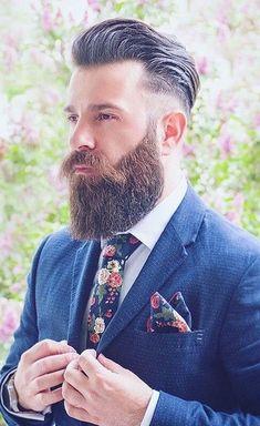 Ducktail Beard Look- The Mature yet Sexy Beard Style Beard Look, Sexy Beard, Great Beards, Awesome Beards, Best Beard Styles, Hair And Beard Styles, Beard Images, Full Beard, Beard Growth