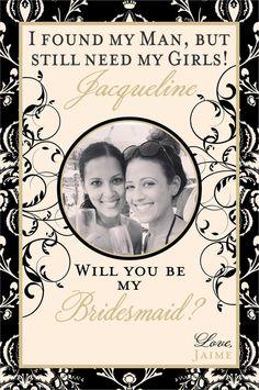 Personalized Bridal Party Gifts Custom by iDoArtsyWeddings