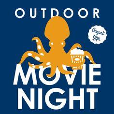 Outdoor Movie Night featuring SCHOOL OF ROCK ~ August 24!