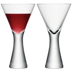 LSA Moya Wine Glass - Clear (395ml) (175 BRL)  ❤ follow Zippertravel.com