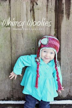 Blueberry Kisses Crochet Hat Pattern