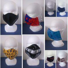 Masque de protection HOMME réutilisable en tissu Couture, Etsy, Face Peel Mask, Protective Mask, Haute Couture