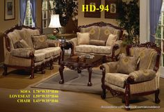 17 Best Homey Design Sofa Sets Images Dining Room Sets Living