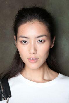 Liu Wen rocking her single eyelids