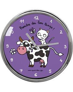 "Horloge ""Prendre du bon temps !"""