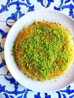A classic Middle Eastern dessert recipe made with buttery fried pastry filled with cheese and covered in a sweet sugar syrup. Kataifi Pastry, Gregory Smith, Delicious Desserts, Dessert Recipes, Middle Eastern Desserts, Rose Water, Sweet Recipes, Dishes, Sun Soaked