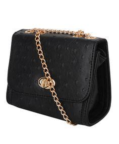 Faux Ostrich Leather Shoulder Bag   FOREVER21 - 1015035292
