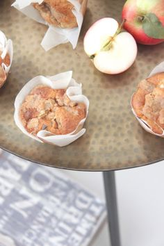 Apple muffins :-) Pretty yummy