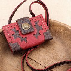 Game Girl Red Handbag