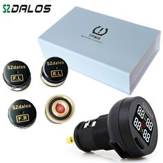TPMS The New TP200  Car Tire Pressure Monitoring System Car Tire Diagnostic-tool   support Bar and PSI free shipping