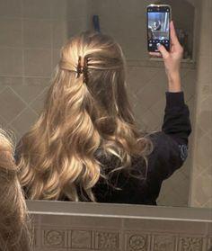 Hair Day, New Hair, Hair Inspo, Hair Inspiration, Aesthetic Hair, Blonde Aesthetic, Aesthetic Makeup, Dream Hair, Pretty Hairstyles