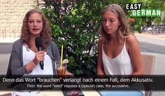 learn german youtube1 11 Must watch YouTube Channels for Learning German