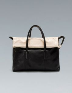 CITYBAG WITH ZIP - Handbags - Woman - ZARA