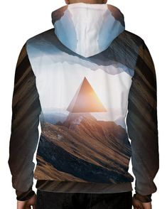Outer Realm Pullover Hoodie-Male-Back