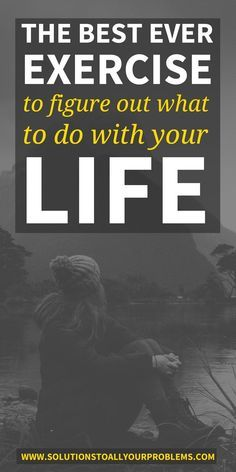 What To Do With Your Life || Not sure if you are on the right path? Try this simple but eye-opening exercise that will help you figure out what you should do with your life.