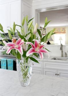 Spring Home Tour | Lisa and Will Shumadine I love the marble!