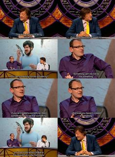 QI, Stephen Fry, Sean Lock, fish, quite interesting