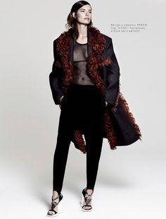 Fall: Ava Smith By Hannah Khymych For Elle Mexico November 2014
