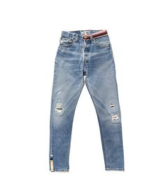 Have You Seen the Pamela Love for Re/Done Jeans Collaboration? via @WhoWhatWearUK