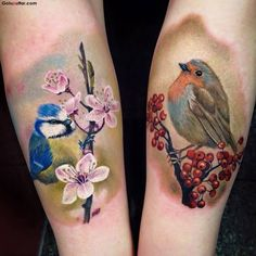 Image result for 3d bird tattoo