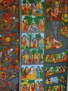 Patua scroll art West Bengal