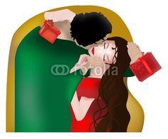 like Klimt... ideal for Valentine's Day crazycolors © fotolia