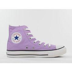 Lavender High-Top Converse