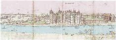 Henry VIII re-built Richmond Palace, after and named it after Richmond Castle in Yorkshire. He died in the Palace in as did Queen Elizabeth 1 in Richmond Palace, Richmond Castle, Palace Garden, Pictures, Painting, Photos, Painting Art, Paintings