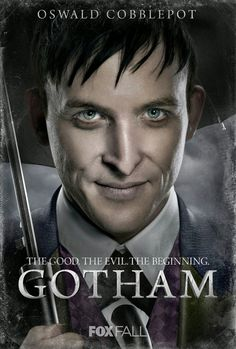 Fox, via Entertainment Weekly, has released the hi-res character posters for Gotham. The series explores James Gordon's early GCPD career as well as 'beginnings' of some notable Batman rogues. Gotham Tv Series, Drama Tv Series, Movies And Series, Gotham Movie, Movie Tv, Benjamin Mckenzie, Gotham Batman, Im Batman, Batman Stuff