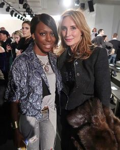 Caught up with the lovely @sonjatmorgan at the @zangtoi #FW17 show. She's the most amazing person and my fav #RHWONY housewife! I can't wait to style an editorial with this beauty again.  (oh and insider secretSonja is the realest housewife you'll ever meet! So genuine and so sweet!) _____________________________________________________________  #fashioneditor  #newyorkstyle #luxury  #instagood #instafashion #photooftheday #streetstyle #fashionblogger  #ootd #style #fashion #etceteramodus…