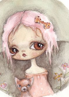 lelia by ppinkydollsart on Etsy, $40.00