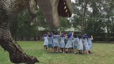 It can be fun when a dinosaur escapes and goes after the students and it is captured on Green Screen by Do Ink! Thank you Apptive Learning Lab. Video Capture, Video Production, Ipads, Medium Art, Lab, Students, Activities, Learning, School
