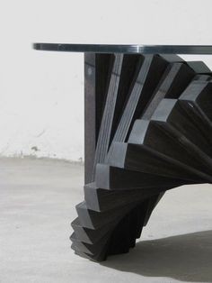 Black Ballerina Coffee table. One simple element repeated to create.......