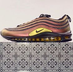 Nike Air Max '97 Skepta Gold Black Size 44 | eBay