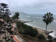 Welcome to winter in Lima. Costa Verde, Miraflores, Lima, Perú