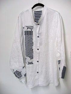 With Needle and Brush: Nuevo Yukata Shirt