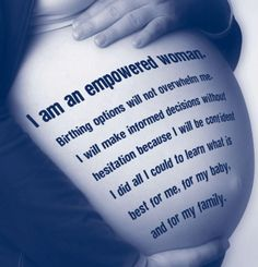 Love that this does not say she is empowered because she chose a home birth over hospital but rather because she did her research and chose what is BEST for HER. Becoming A Midwife, Prepare For Labor, Birth Affirmations, Pregnancy Care, Natural Birth, Infancy, Midwifery, Doula, Our Body
