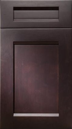 The Chicago Maple Ebony cabinet by Elmwood embodies the same simple design and rich, deep stain as the cabinetry in the inspiration image. Simple Designs, Kitchen Cabinets, Chicago, House Design, Deep, Elegant, Inspiration, Image, Simple Drawings