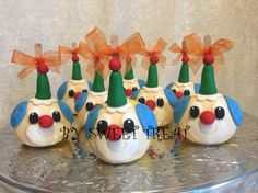 Clowns chocolate decorated apples!!! www.sweettreatusa.com