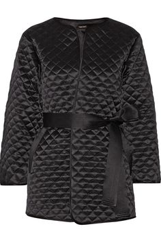 Chic sweats: Adam Lippes quilted silk-satin jacket