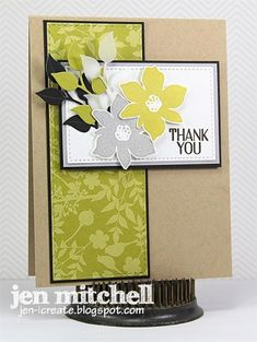 Best Blossoms Thank You by jenmitchell - Cards and Paper Crafts at Splitcoaststampers