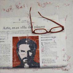 "Saatchi Art Artist Tomasa Martin; Painting, ""MAS ALLA DEL PLACER"" #art"