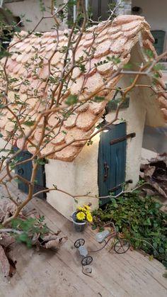 モルタル造形 ミニチュアハウス|細川洋蘭農園の園芸日記 ブログ