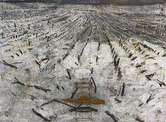 """Your House Rode the Dark Shaft (Dein Haus ritt die finstere Welle)"", 2006, Anselm Kiefer. Galerie Thaddaeus Ropac."