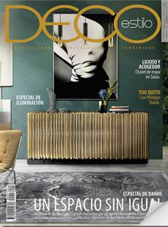 BRABBU wants to help you on that and make sure that you get the best inspirations from the best interior design magazines. Interior Design Magazine, Best Interior Design, Interior Decorating, Philippe Starck, Cool Magazine, Magazine Covers, Mid Century Style, Cozy House, Warm And Cozy