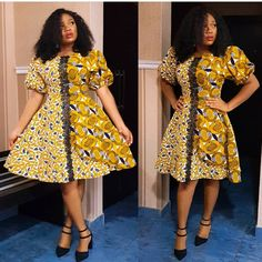 Exotic Ankara Gown Styles In Nigeria African Dresses For Women, African Print Dresses, African Attire, African Wear, African Fashion Dresses, African Outfits, Ghanaian Fashion, African Prints, African Style