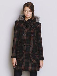 Taylor Swift, duffle coat, burgundy, maroon, winter, autumn style ...